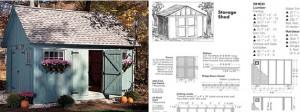 yard shed designs